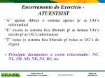 encerramento do exerc cio atuestsist