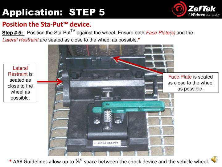 Application:  STEP 5