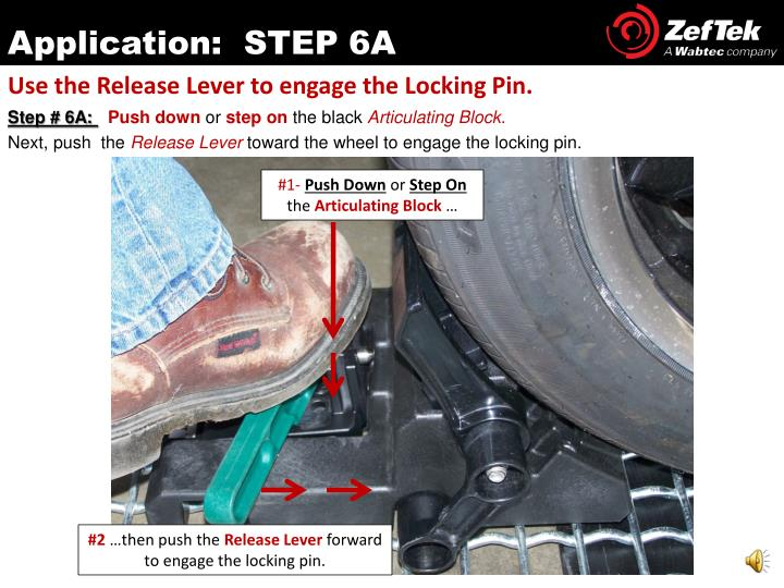 Application:  STEP 6A