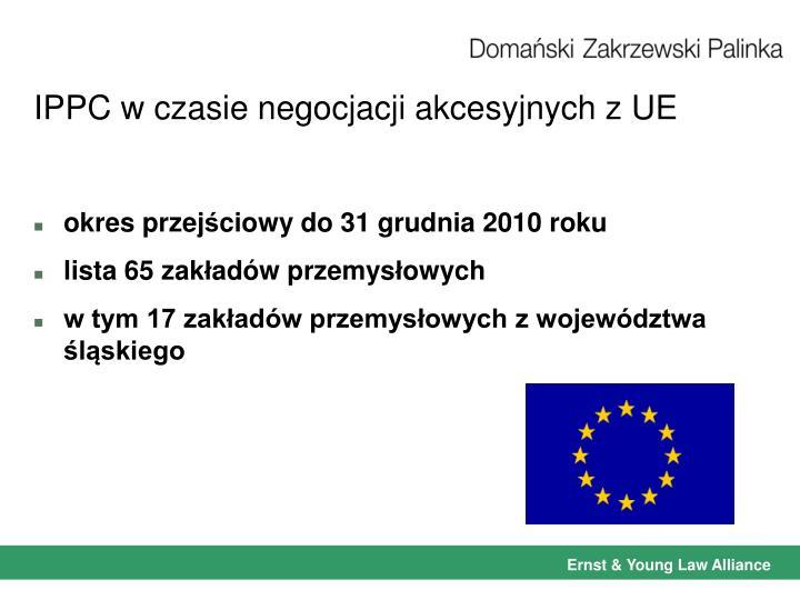 IPPC w czasie negocjacji akcesyjnych z UE