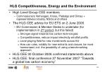 hlg competitiveness energy and the environment