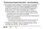 performance based allocation benchmarking