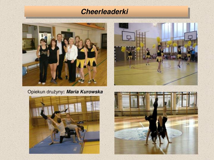 Cheerleaderki
