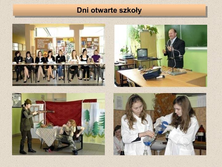 Dni otwarte szkoły