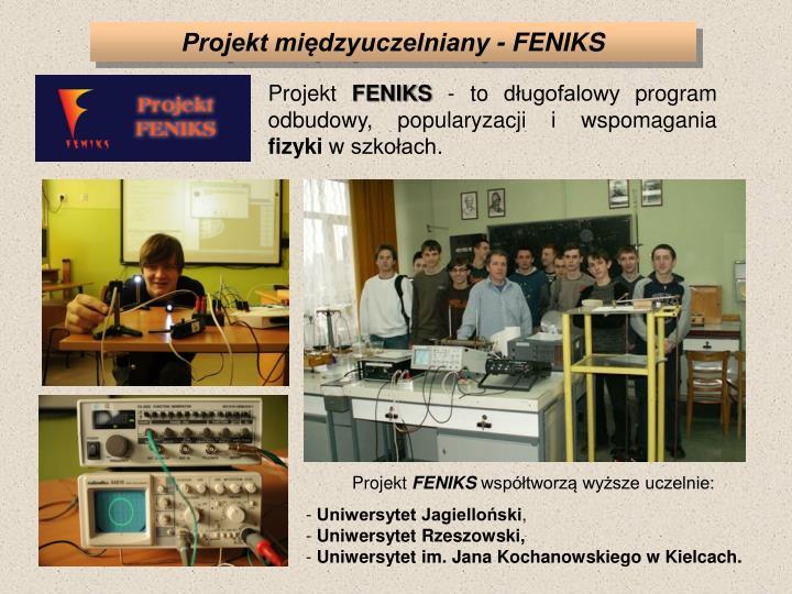 Projekt międzyuczelniany - FENIKS