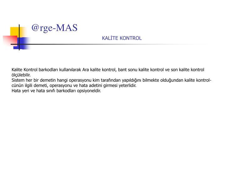 @rge-MAS