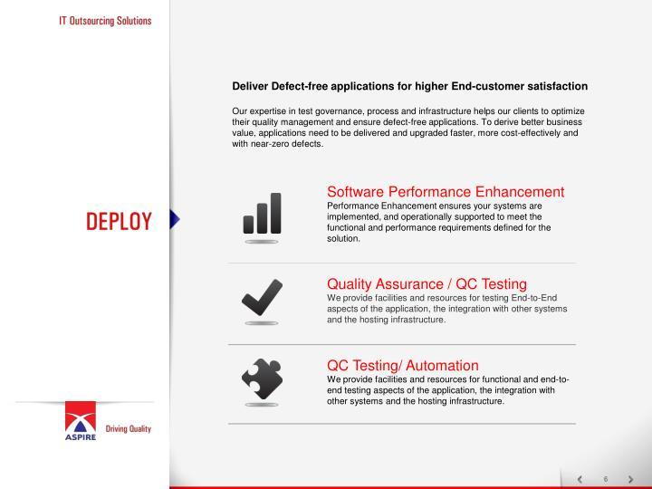 Software Performance Enhancement