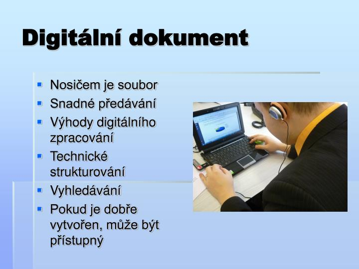 Digitální dokument