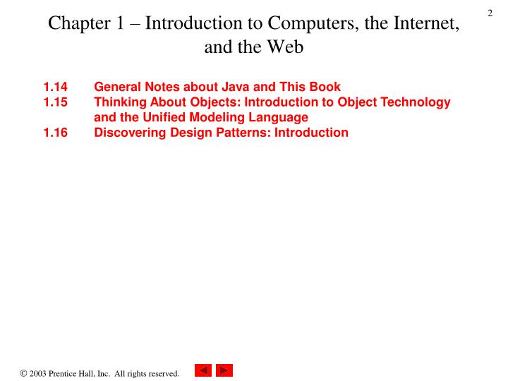 Chapter 1 introduction to computers the internet and the web1