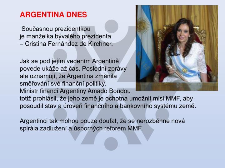 ARGENTINA DNES