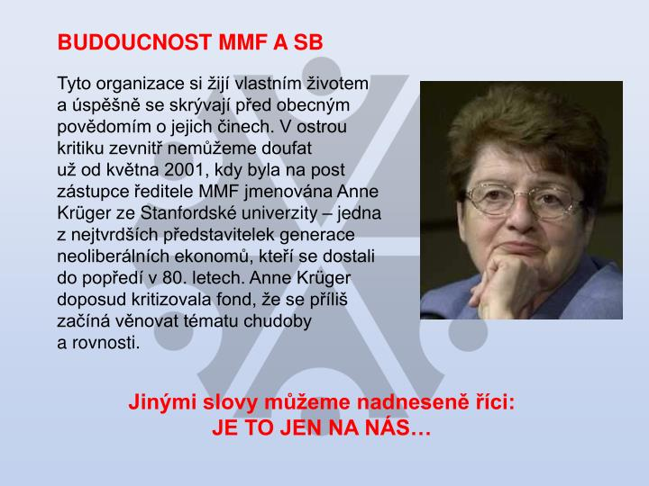 BUDOUCNOST MMF A SB