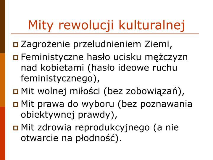 Mity rewolucji kulturalnej