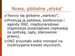 nowa globalna etyka