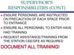 supervisor s responsibilities cont2