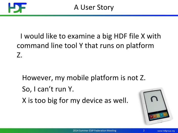 A User Story