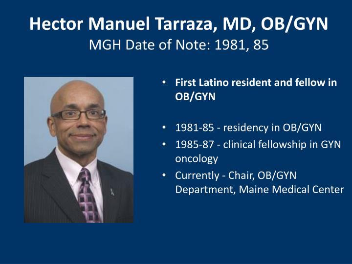 Hector Manuel Tarraza, MD, OB/GYN