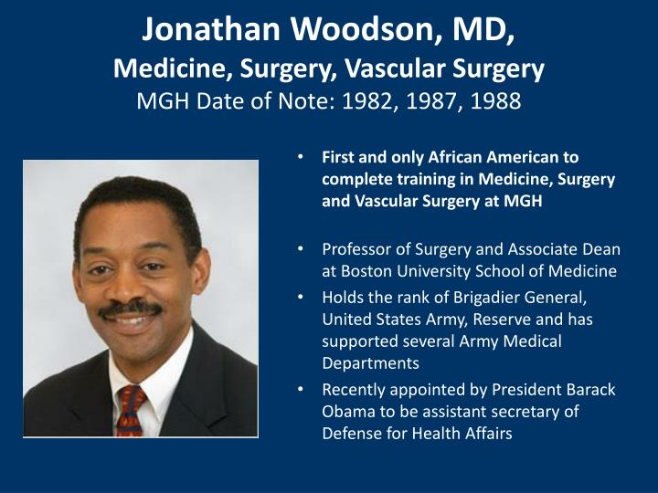 Jonathan Woodson, MD,