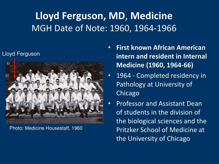 Lloyd Ferguson, MD