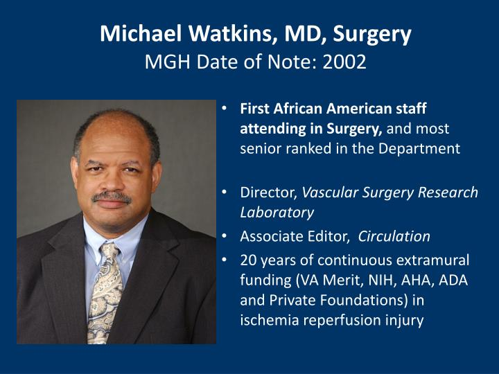 Michael Watkins, MD, Surgery