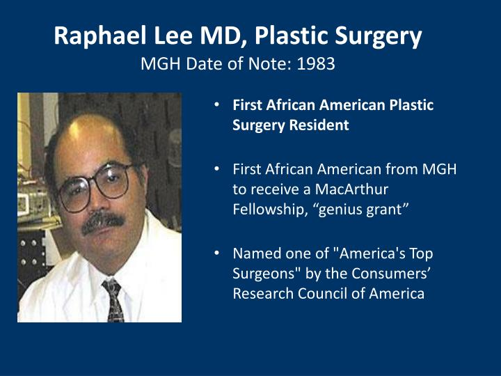 Raphael Lee MD, Plastic Surgery