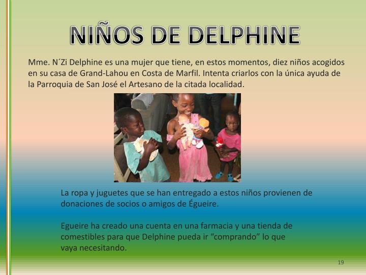NIÑOS DE DELPHINE