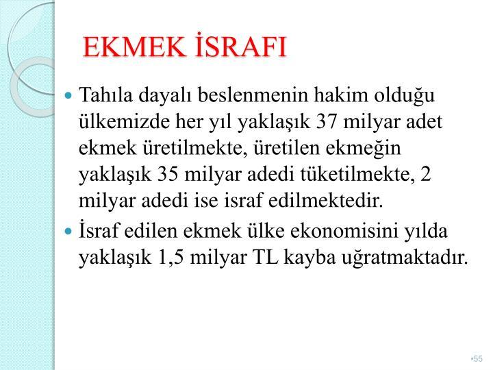 EKMEK SRAFI