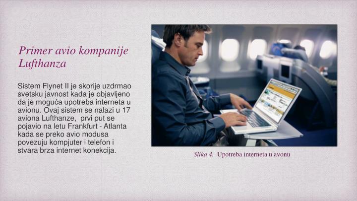Primer avio kompanije Lufthanza