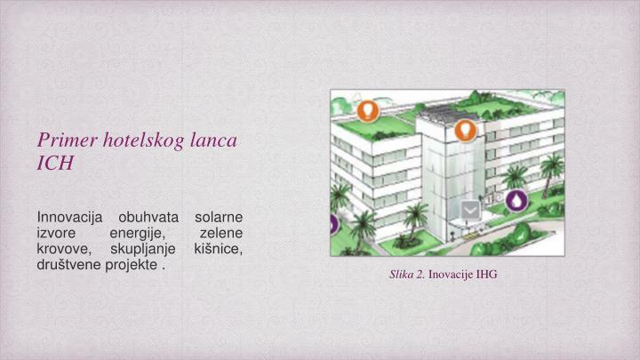 Primer hotelskog lanca ICH