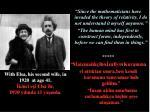 with elsa his second wife in 1920 at age 41 kinci e i elsa ile 1920 y l nda 41 ya nda