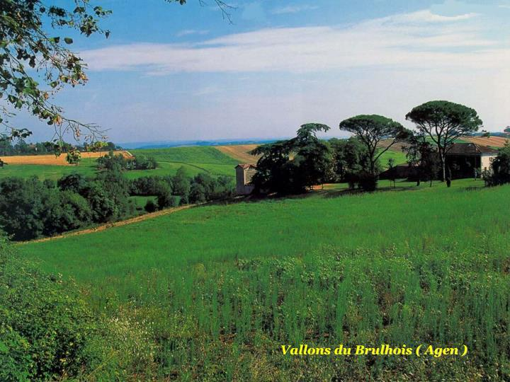 Vallons du Brulhois ( Agen )