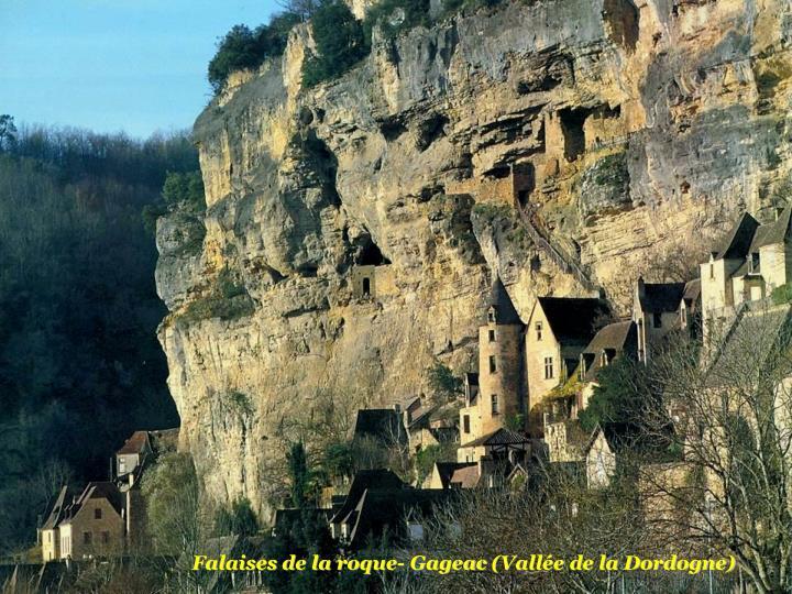Falaises de la roque- Gageac