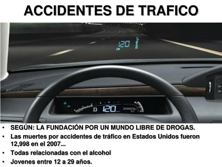 ACCIDENTES DE TRAFICO