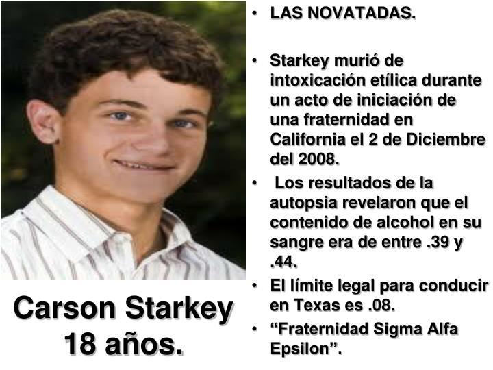 Carson Starkey