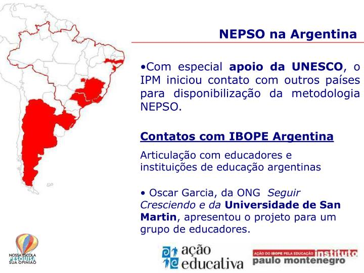 NEPSO na Argentina