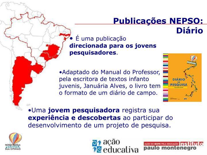 Publicações NEPSO: