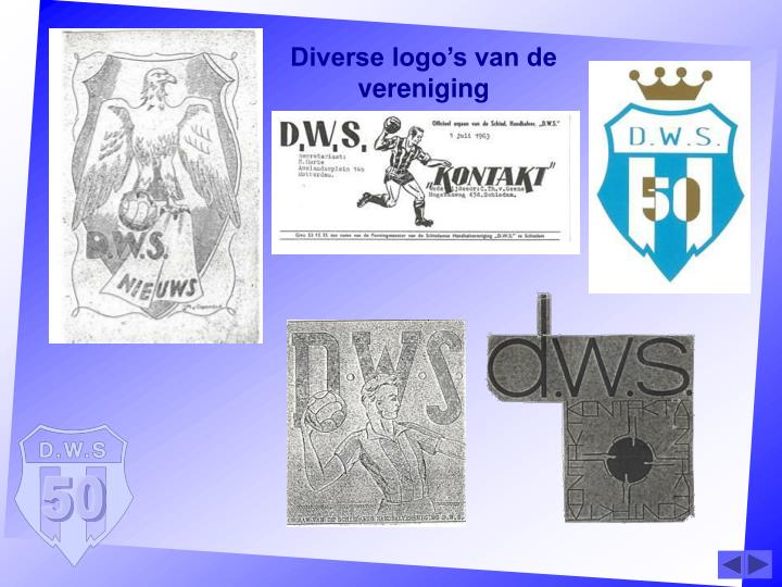 Diverse logo's van de vereniging