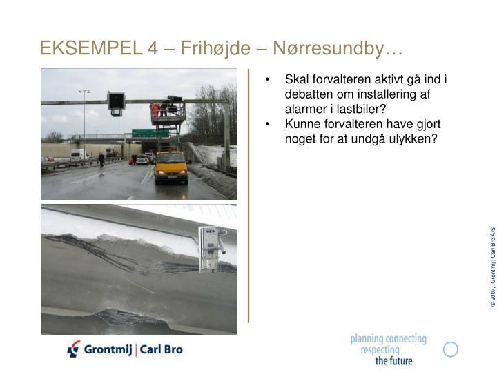 EKSEMPEL 4 – Frihøjde – Nørresundby…