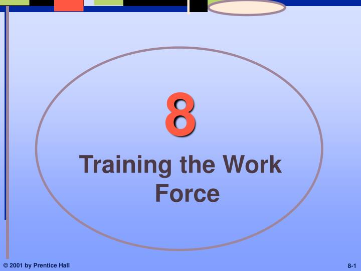 Training the work force