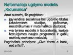 neformaliojo ugdymo modelis kidumatica3