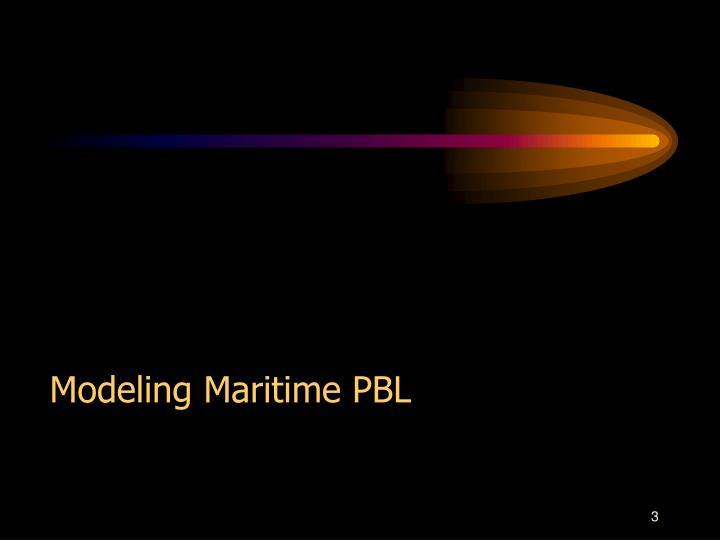 Modeling Maritime PBL