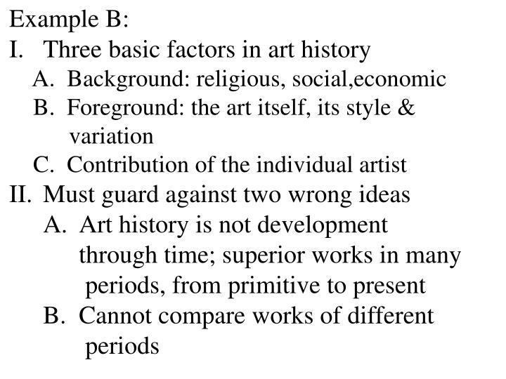 Example B: