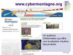 www cybermontagne org