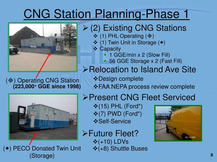 CNG Station Planning-Phase 1
