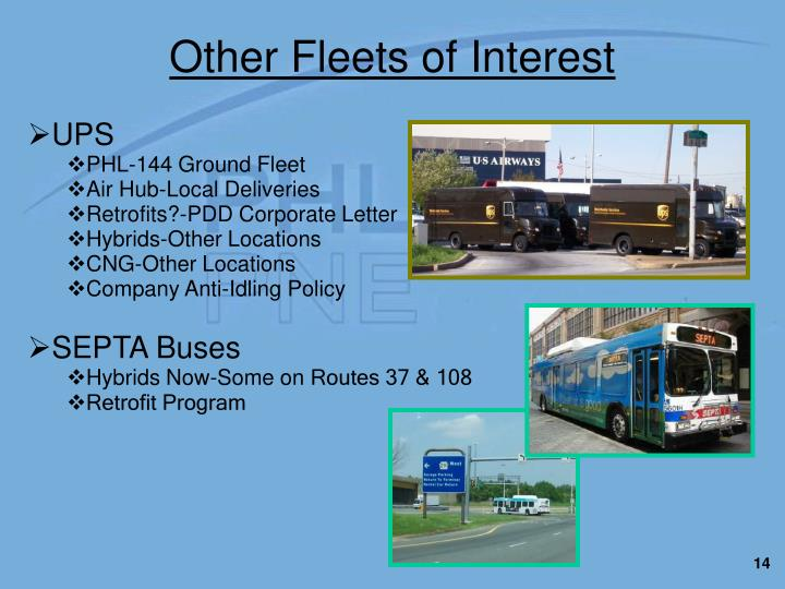 Other Fleets of Interest