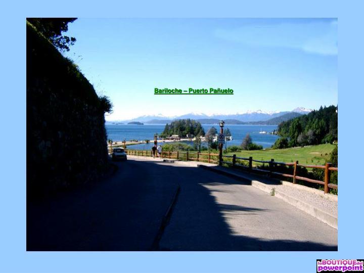 Bariloche – Puerto Pañuelo