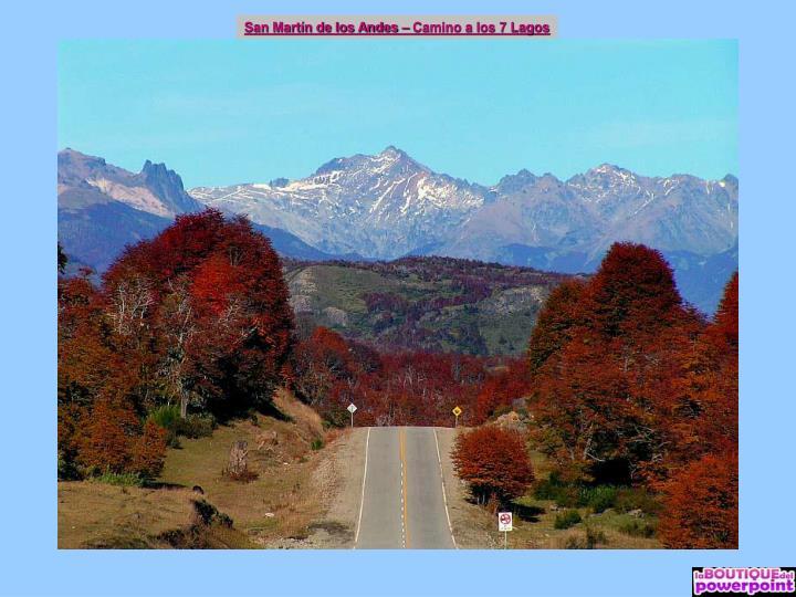 San Martín de los Andes – Camino a los 7 Lagos