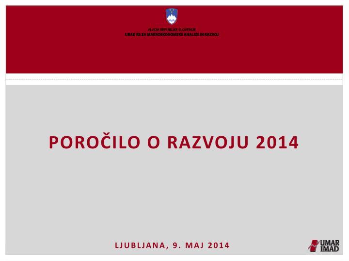 Poročilo o razvoju 2014
