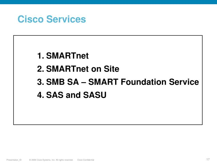 Cisco Services