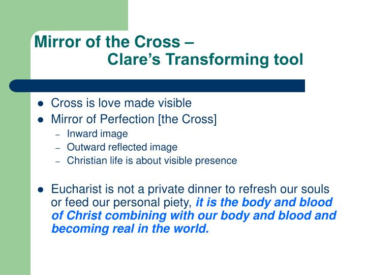 Mirror of the Cross –