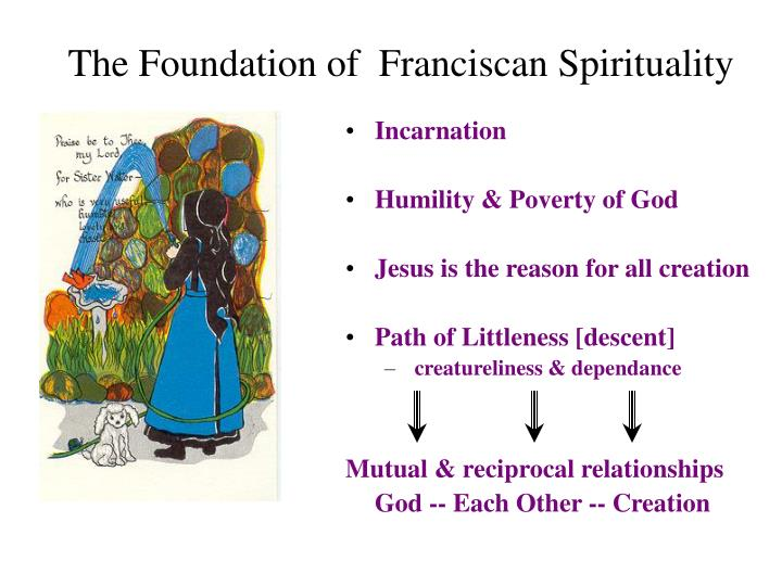 The Foundation of  Franciscan Spirituality